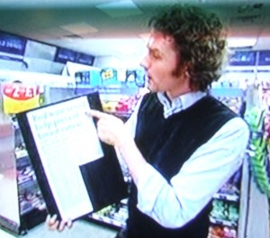 Ben Goldacre BBC One Show September 8 2008.